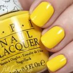 OPI - My Twin Mimmy โทนสีเหลืองฮาวาย เนื้อสีสวยทาง่าย