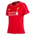 เสื้อบอลผู้หญิงทีมเหย้า Liverpool 2014 - 2015