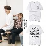 เสื้อยืด Anti Social Social Club Logo Sty.SUGA -ระบุสี/ไซต์-