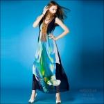 M5805169 / M L XL / 2015 Hiend Design Fashion dress พรีออเดอร์เดรสแฟชั่นงานเกรดยุโรป สวยดูดีมีสไตล์ นางแบบใส่ชุดจริง เป๊ะเว่อร์!