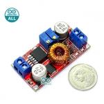 XL4015E High current 5A Stepdown 4-38V to 1.25-36V 5A โมดูลสเตปดาวน์แปลงไฟจาก 4-38V เป็น 1.25-36V กระแสสูงสุด 5A