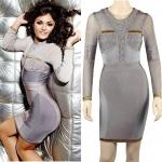 HV123 / Preorder Herve Leger Dress Style พรีออเดอร์เดรสไตล์ Hervr Leger