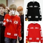 Sweater HOOD BY AIR HBA'Sty.Bangtan Boy -ระบุไซต์-