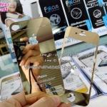 ฟิล์มกระจกโครเมี่ยม สีทอง IPhone 4G/4S Glass Protector หน้า หลัง