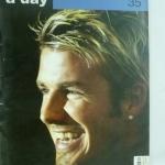 a day No. 35 July 2003 (ปกเดวิด เบคแฮม )