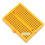 Breadboard 170 holes สีเหลือง