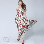 M5805162 / S M L XL / 2015 Hiend Design Fashion dress พรีออเดอร์เดรสแฟชั่นงานเกรดยุโรป สวยดูดีมีสไตล์ นางแบบใส่ชุดจริง เป๊ะเว่อร์!