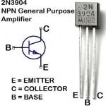 ทรานซิสเตอร์ 2N3904 Transistor จำนวน 5 ตัว