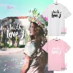 เสื้อยืด JESSICA SOLO With Love -ระบุสี/ไซต์-