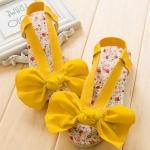 รองเท้าเด็ก สีเหลือง แพ็ค 4คู่ ไซส์ 27-28-29-30
