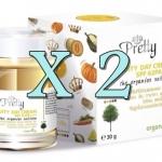 2 กระปุก Pretty Fruity Day Cream พริตตี้ ฟรุ๊ตตี้ เดย์ ครีม ครีมบำรุงผิว ครีมกันแดด ครีมกลางวัน ส่งฟรี EMS