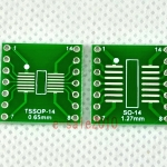 TSSOP14 SSOP14 MSOP14 SOP14 TURN DIP14 14pin IC adapter Socket / Adapter plate PCB Suitable for Ia socket