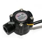 เซนเซอร์วัดอัตราการไหลของน้ำ Water Flow Sensor Flowmeter Hall Water control 1-30L/min 2.0MPa Flow flow meter water sensor คละสี