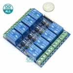 Arduino Relay 8 Channel Relay 10A Relay 5V Relay 8 ช่อง Module Board for Arduino Active Low