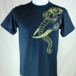เสื้อลายไทย Linethai T-shirt ลายเศียรช้าง (Line elephant head)
