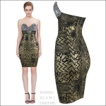 HV0901 / Preorder Herve Leger Dress Style พรีออเดอร์เดรสไตล์ Hervr Leger เดรสผ้ายืด ใส่สวยเน้นรูปร่าง แบบเก๋ทันสมัย สไตล์ดาราและเซเลบกำลัง HOT HIT