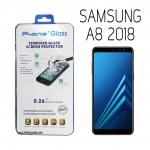 Samsung A8 2018 - ฟิลม์ กระจกนิรภัย P-One 9H 0.26m ราคาถูกที่สุด