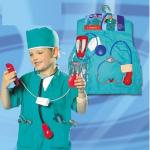 ชุดศัลยแพทย์+อุปกรณ์ตามรูป แพ็ค 4 ชุด ฟรีไซส์ (เหมาะสำหรับ 3-8 ขวบ)