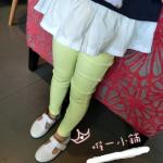 กางเกง สีเหลือง แพ็ค 5ชุด ไซส์ 7-9-11-13-15