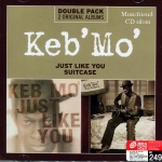 Keb' Mo' Just Like You and Suitcase Double Pack 2 CDs