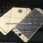 ฟิล์มกระจกโครเมี่ยม IPhone 6Plus/6S Plus สีทอง หลังวงกลม