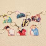 พวงกุญแจ BTS MIC Drop -ระบุสมาชิก