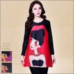 5902242 / Free size / 2016 Dress Fashion พรีออเดอร์ งานสวยมีสไตล์ คุณภาพดีสมราคา