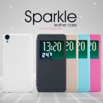 HTC Desire 820, 820s - เคสฝาพับ Nillkin Sparkle leather case แท้