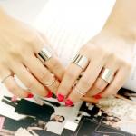 แหวนข้อนิ้ว 1 เซ็ต 6 ชิ้น พร้อมส่ง