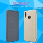 Huawei Nova 3e - เคสฝาพับ Nillkin Sparkle leather case แท้