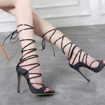 รองเท้าส้นสูงแบบสายพันรอบขา ไซต์ 35-40