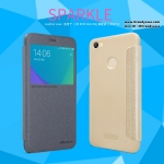 Xiaomi Redmi Note 5A Prime - เคสฝาพับ Nillkin Sparkle leather case แท้