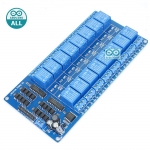 Arduino Relay 12V 16 ช่อง 10A 250V power relay สำหรับ Arduino และ Microcontroller