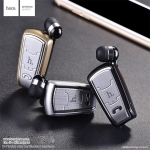 HOCO E4 หูฟัง Bluetooth Retractable Clip-On Headset พิเศษหูข้างเดียวพร้อมไมค์ แท้