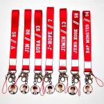 Name tag + พวงกุญแจ BTS (RED) -ระบุสมาชิก-