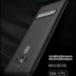Huawei Mate 10 Pro - เคส TPU ลายเคฟล่า Carbon พร้อมขาตั้ง TOTU DESIGN แท้