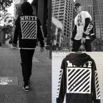Jacket Off-White c/o Virgil Abloh Zipper Black -ระบุไซต์-