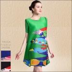 5902228 / Free size / 2016 Dress Fashion พรีออเดอร์ งานสวยมีสไตล์ คุณภาพดีสมราคา