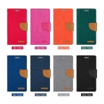 iPhone 6 Plus, 6s Plus - เคสฝาพับ Mercury Canvas Diary แท้