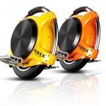 ชมพู เหลือง จักรยานไฟฟ้าล้อเดียว จำนวนจำกัด PUKKA X7