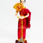 ตุ๊กตาชุดไทย 4 ภาค (Pre-Order คละแบบ คละสี)