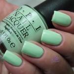 OPI - Thats's Hula-rious! โทนสีเขียวมิ้นอ่อน น่ารักแบบพาสเทล