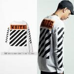 เสื้อแขนยาว OFF-WHITE 16ss OW -ระบุไซต์- -ระบุไซต์-