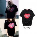 เสื้อยืด Supreme FXXK Love Heart Tee -ระบุสี/ไซต์-