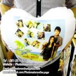 013 มิกซ์รูปสกรีนหมอนอิงหัวใจ
