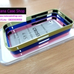 บัมเปอร์โลหะ IPhone 4 / 4s Cross