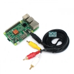 AV Cable for Raspberry Pi B+ / Pi 2 Jack 3.5mm to RCA ยาว 1.5m