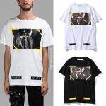 (งานป้าย) เสื้อยืด OFF White Caravaggio tee SS16-ระบุสี/ไซต์-