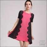 5902231 / Free size / 2016 Dress Fashion พรีออเดอร์ งานสวยมีสไตล์ คุณภาพดีสมราคา