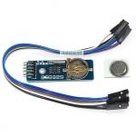 RTC DS1302 Module โมดูลนาฬิกา DS1302 พร้อมถ่านและสายไฟ